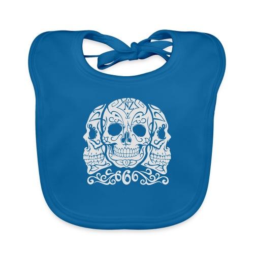 Skull Dia de los muertos - Bavoir bio Bébé