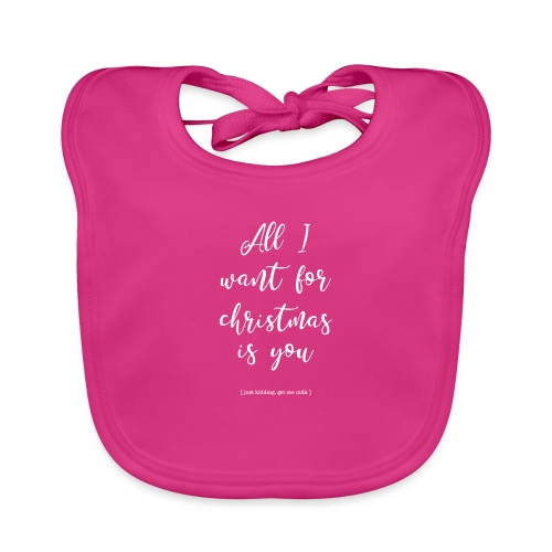 All I want _ oh baby - Bio-slabbetje voor baby's