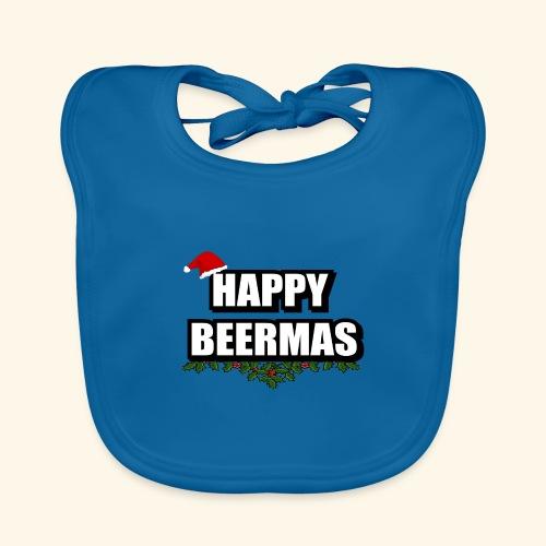 HAPPY BEERMAS AYHT - Organic Baby Bibs