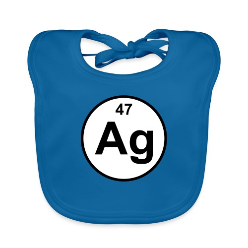 Argentum (Ag) (element 47) - Baby Organic Bib