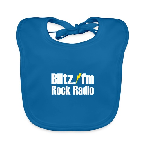 BLITZ FM TSHIRT Schwarz - Baby Bio-Lätzchen