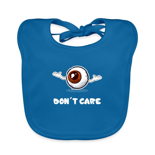 EYE don't care - Bavoir bio Bébé