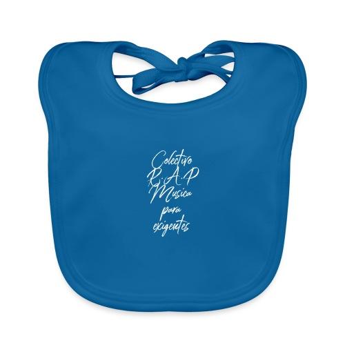 SOLO PARA AMANTES DEL RAP// Colectivo R.A.P - Babero de algodón orgánico para bebés