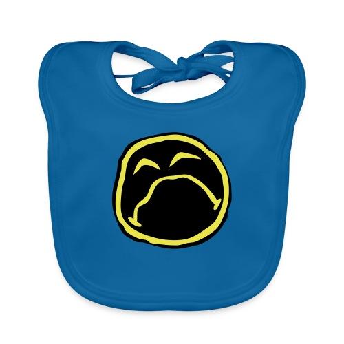 Droef Emoticon - Bio-slabbetje voor baby's