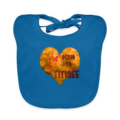 Herz für den Titisee - Baby Bio-Lätzchen