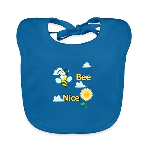 BEE NICE - Ekologisk babyhaklapp
