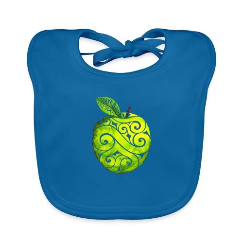 Swirly Apple - Baby Bio-Lätzchen