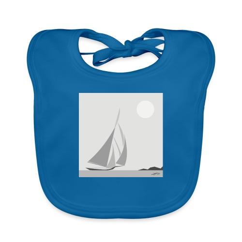 sailing ship - Baby Organic Bib
