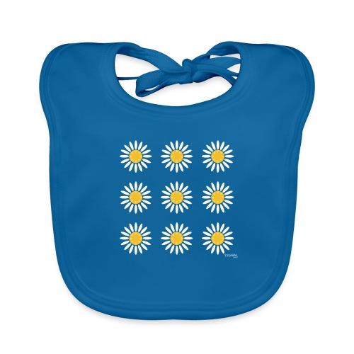 Just daisies - Vauvan luomuruokalappu