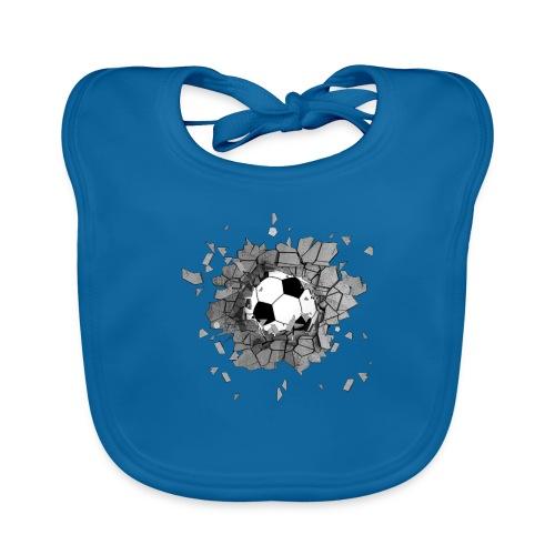 Football durch wand - Baby Bio-Lätzchen
