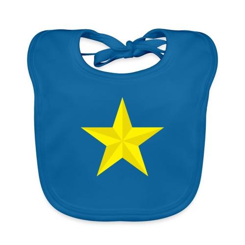 amish barn star yellow gelber Stern stella gialla - Bavaglino