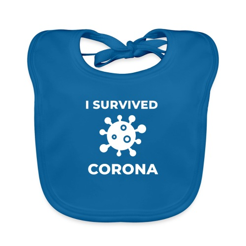 I survived Corona (DR23) - Baby Bio-Lätzchen