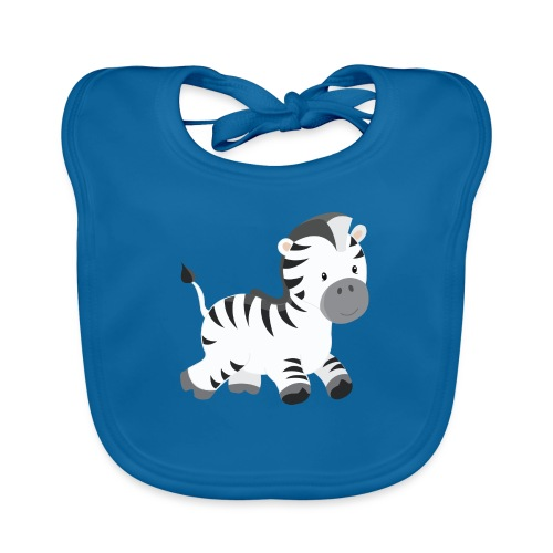 Zebra - Baby Bio-Lätzchen
