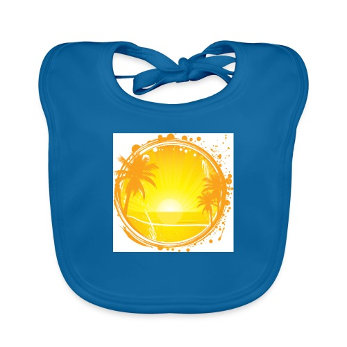 Sunburn - Organic Baby Bibs