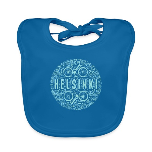 HELSINKI BICYCLE LIFE Textiles, Gifts for You! - Vauvan luomuruokalappu