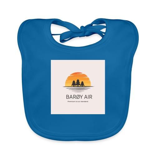 Roblox Airline Barøy Air - Organic Baby Bibs