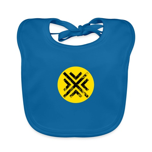 Símbolo Central - Babero de algodón orgánico para bebés