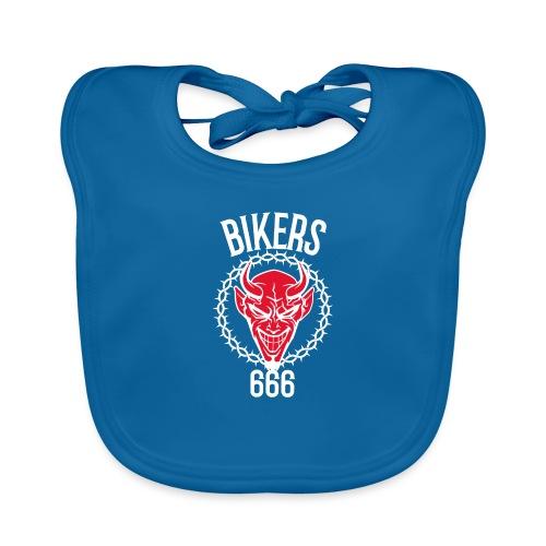 666 bikers - Bavoir bio Bébé