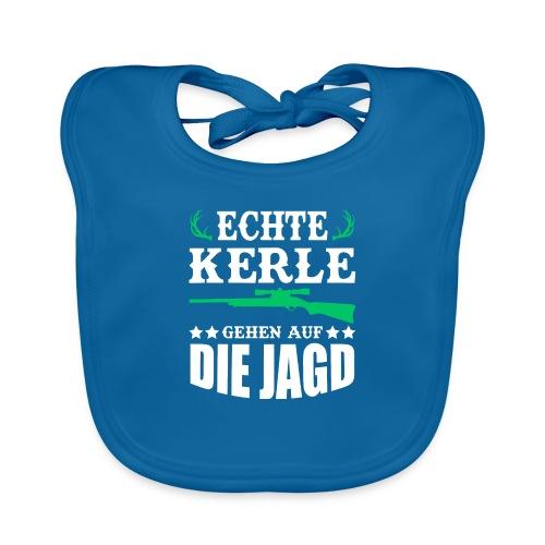ECHTE KERLE GEHEN AUF DIE JAGD - Baby Bio-Lätzchen