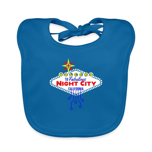 Welcome to fabulous Night City Cyber Punk 2077 - Baby Bio-Lätzchen