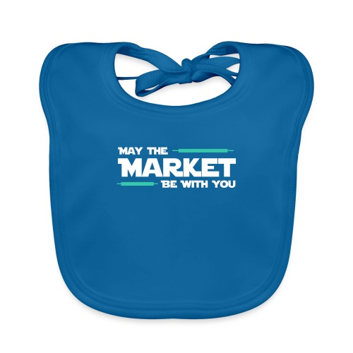 May the market be with you - Bavoir bio Bébé