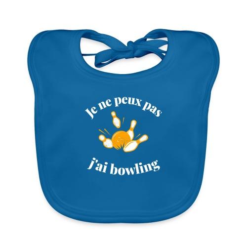 bowling - Bavoir bio Bébé