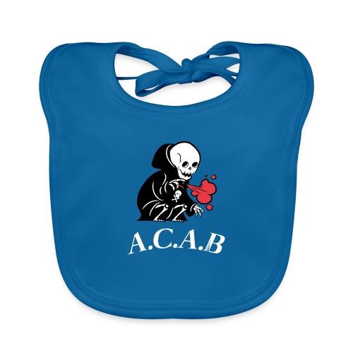 A.C.A.B la mort - Bavoir bio Bébé