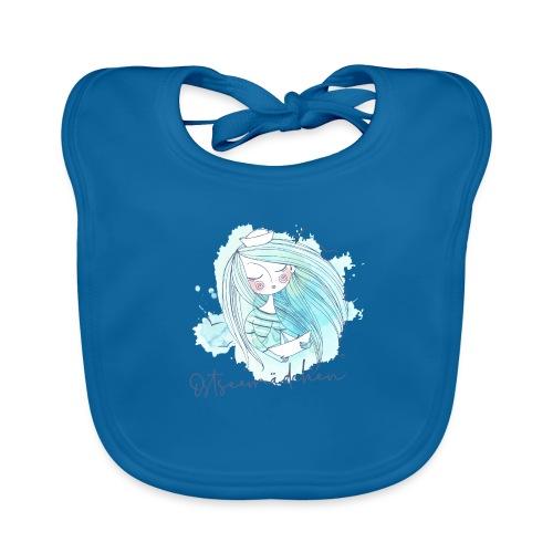 Ostseemädchen Papierboot - Baby Bio-Lätzchen
