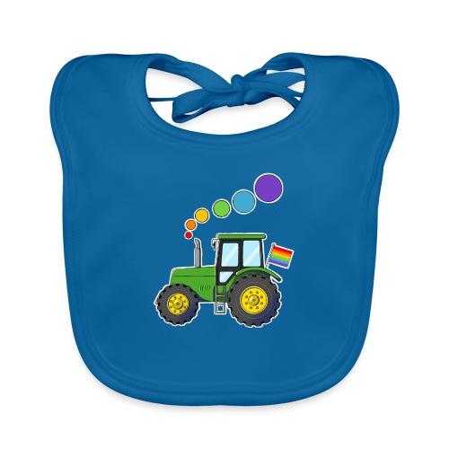 traktor - Hagesmække af økologisk bomuld