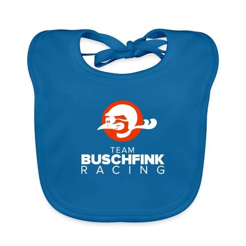 Team Buschfink Logo On Dark - Baby Organic Bib