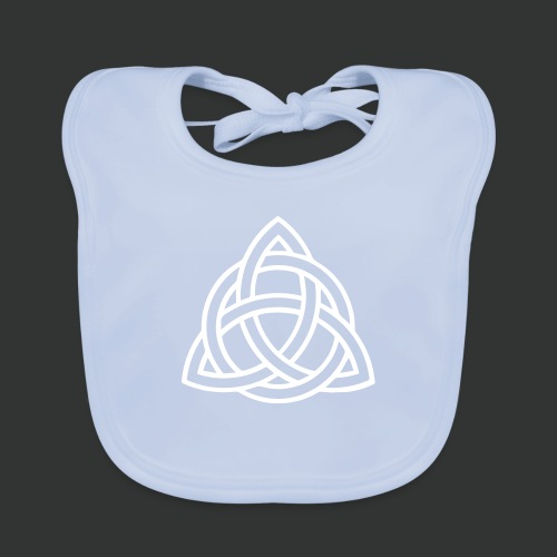 Celtic Knot — Celtic Circle - Baby Organic Bib