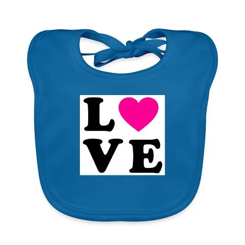 Love t-shirt - Bavoir bio Bébé