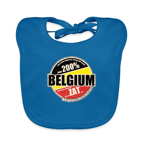 Belgium Vintage - Bio-slabbetje voor baby's