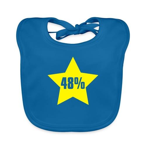 48% in Star - Baby Organic Bib