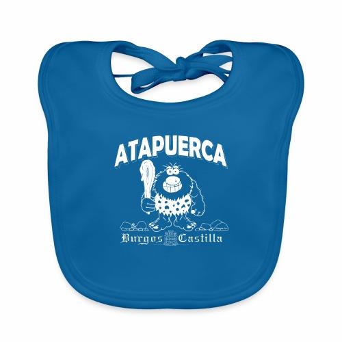 Dupi en Atapuerca - Babero de algodón orgánico para bebés