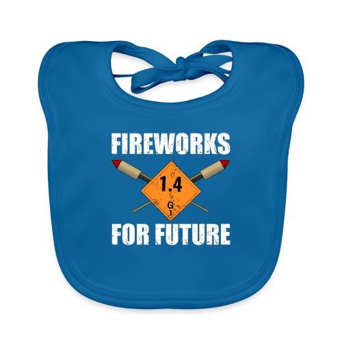 Fireworks for Future Silvester Pyro - Baby Bio-Lätzchen