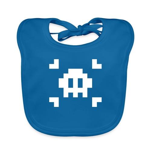 Pixel Skull - Bavoir bio Bébé