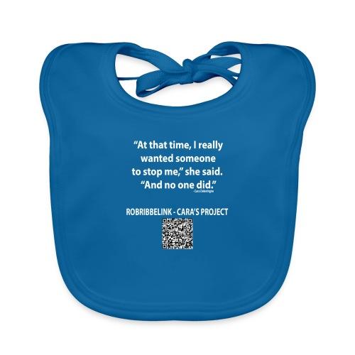 Caras Project fan shirt - Baby Organic Bib