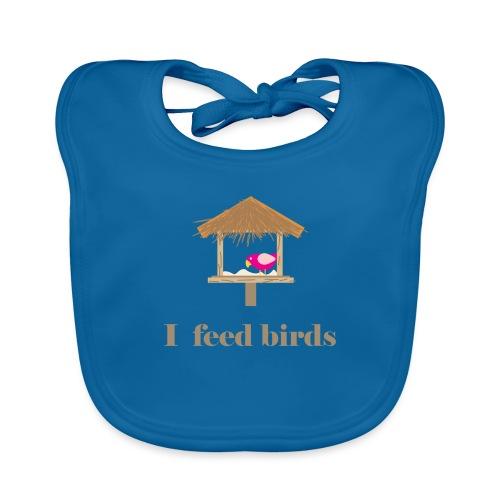 I feed birds - Vauvan ruokalappu