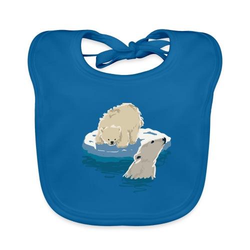 Polar bears - Baby Organic Bib