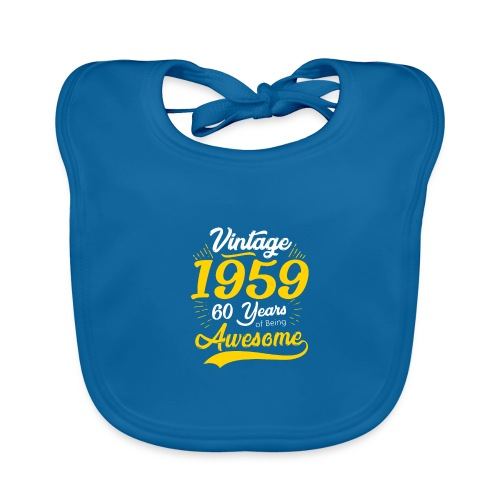 Vintage 1959 60th Birthday - Bavaglino