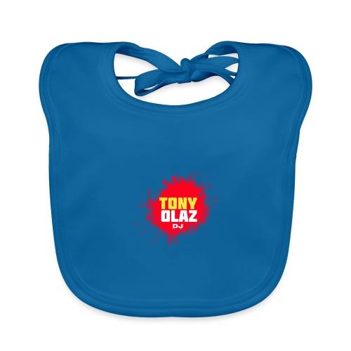 Marca Tony Olaz dj - Babero de algodón orgánico para bebés