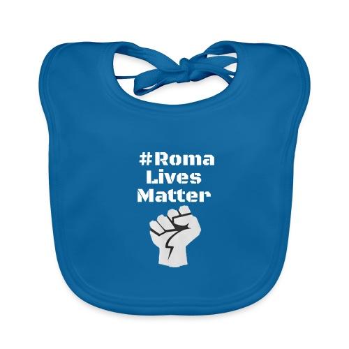 Fist Roma Lives Matter - Organic Baby Bibs