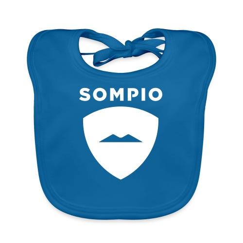 Sompio logo sleeve - Vauvan luomuruokalappu