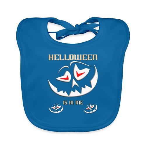 Helloween, Kürbis, Gruselig, Geschenk, 31.10. - Baby Bio-Lätzchen