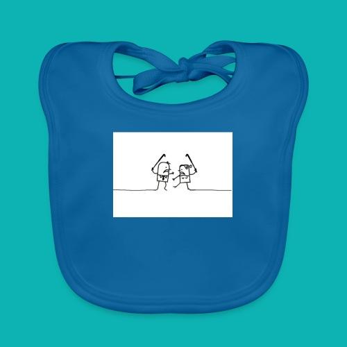 HOCKEY MIXTO - Babero de algodón orgánico para bebés
