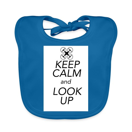 Keep Calm and Look Up - Bio-slabbetje voor baby's