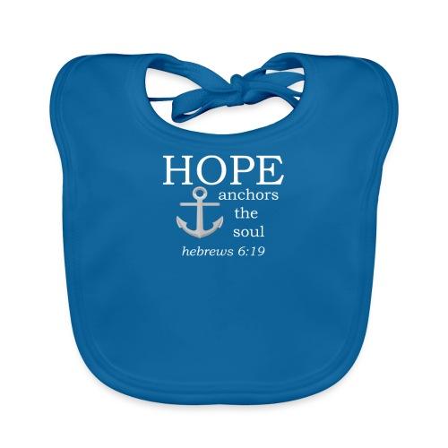 'HOPE' t-shirt (white) - Organic Baby Bibs