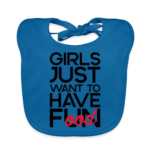 Girls just want to have food - Bio-slabbetje voor baby's