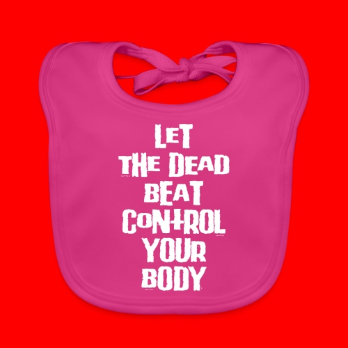 dead beat - Baby Organic Bib